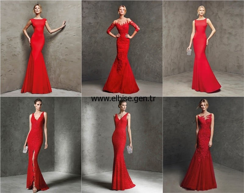2016 red carpet dresses balık model graduation dress